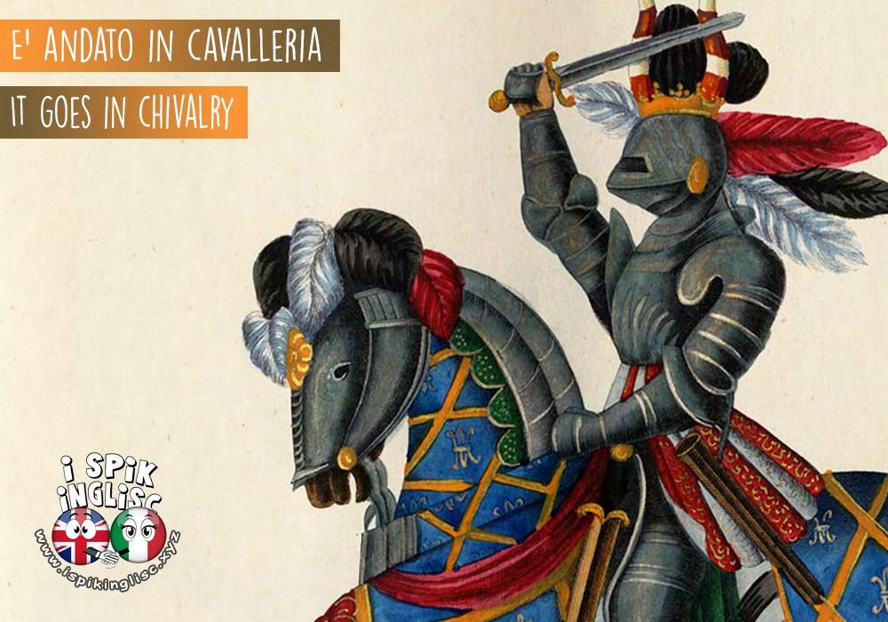 andare in cavalleria