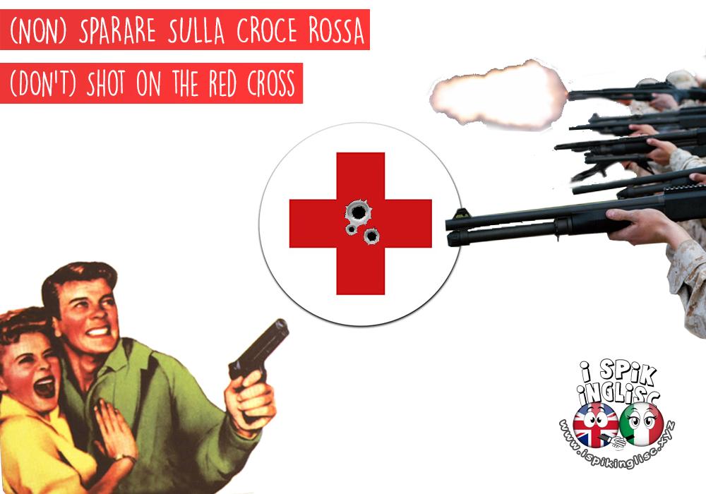 don't shot on the red cross